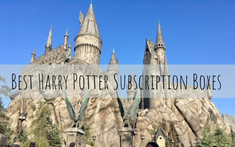 Best Harry Potter Subscription Boxes for any Potterhead!