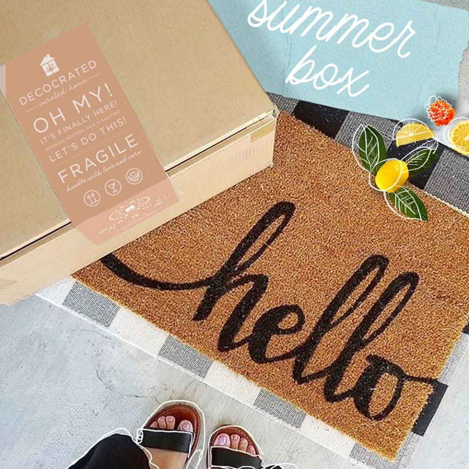 box subscription decorated subscriptionboxes decor decocrated summer