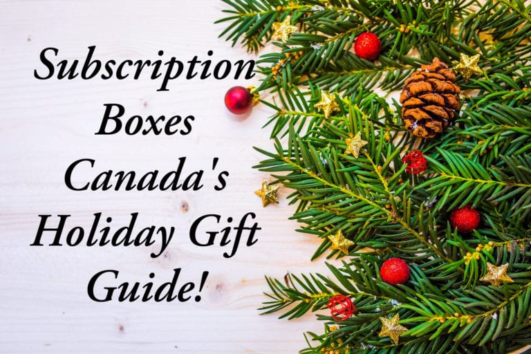 22 Best Subscription Boxes for Christmas Gifts!