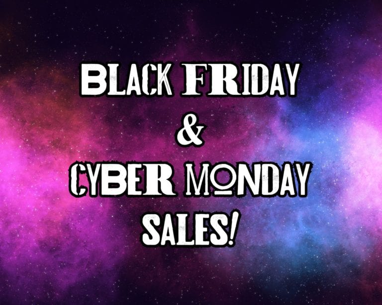Black Friday Sales & Cyber Monday Sales!